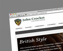 John Crocket Online-Shop